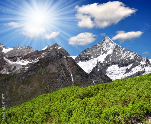 Weisshorn - Swiss alps