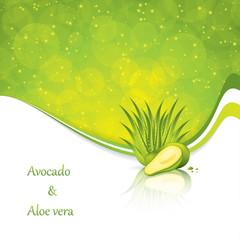 Avocado and Aloe Vera