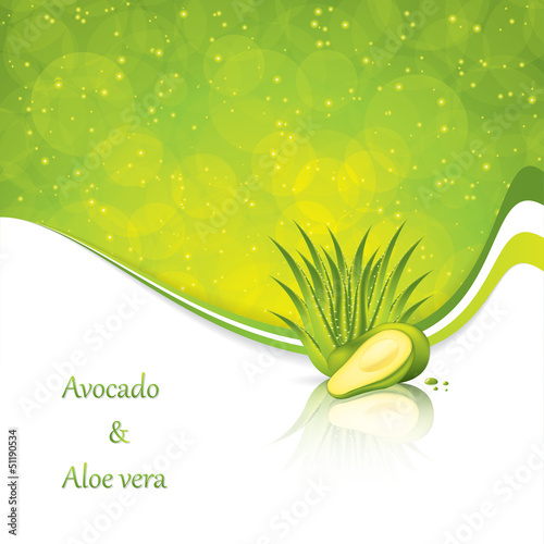 Avocado and Aloe Vera