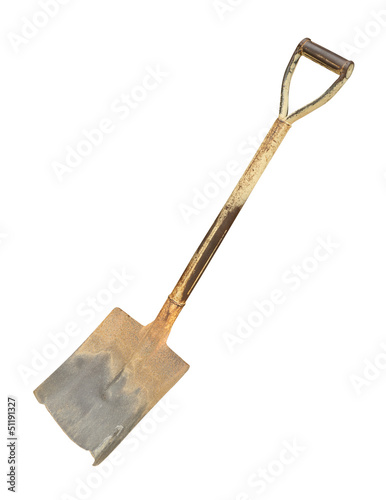 Shovel isolated on white background