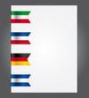nastrini bandiere europa