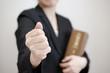 Leinwanddruck Bild - 女性弁護士