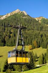 Seilbahn am Nebelhorn - Allgäuer Alpen - Deutschland