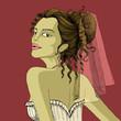 Bride in Retro Style