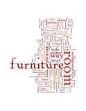 Attractive Arrangement of your Furniture Enhances your Room poster