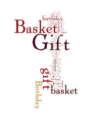 Birthday Wishes with a Birthday Gift Basket