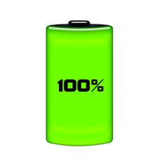 Batteria carica 100%