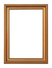 Picture photo frame to put your own pictures in (isolated with c