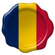 Wachssiegel Tschad