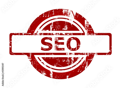 SEO red stamp