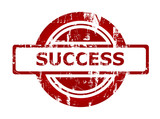 Success business stamp