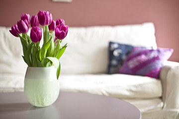 Bouquet Of Fresh Tulips