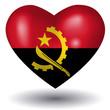 Herz mit Schatten - Angola