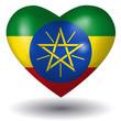 Herz mit Schatten - Äthiopien