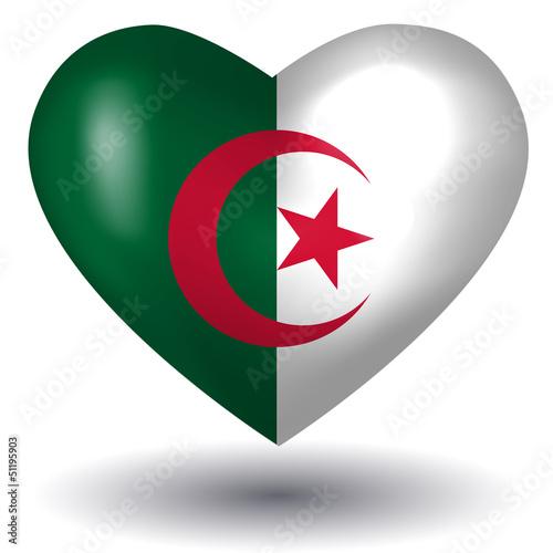 Herz mit Schatten - Algerien