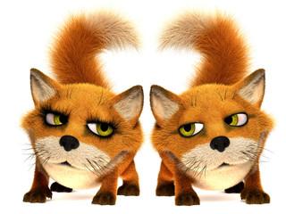 Enamoured foxs