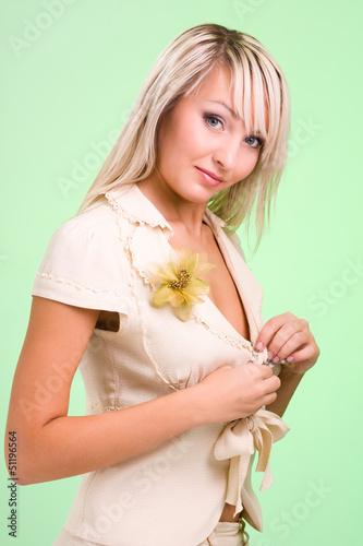 Beautiful and sexy woman