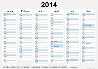 Kalender 2014 - 1.HJ (A4) (II)