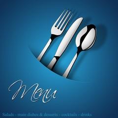 Menu Restaurant_Silver blu