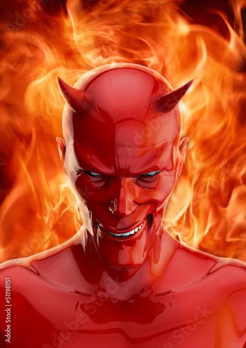canvas print picture The devil
