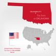 AmericanMap Oklahoma a
