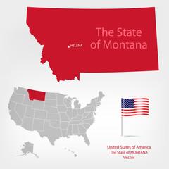 AmericanMap Montana a