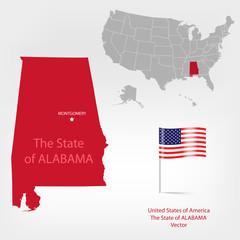 AmericanMap Alabama a