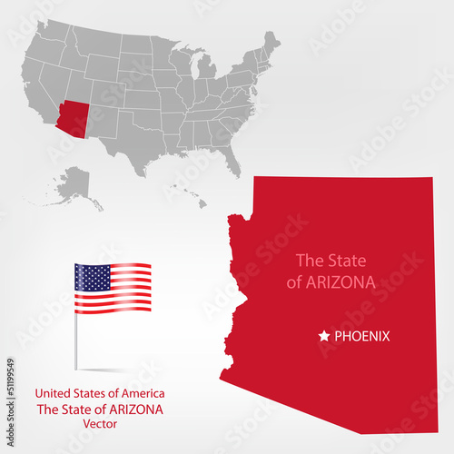 AmericanMap Arizona a