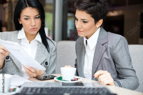 Business women in meeting
