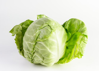 cabbage on isolate