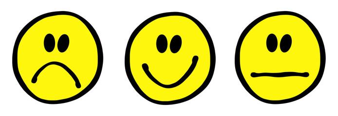3 Smileys