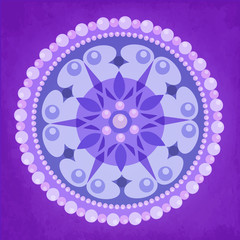 Pearl Circle Ornament Design