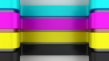 CMYK panels