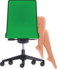 sedia scorrevole