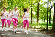 Jogging group
