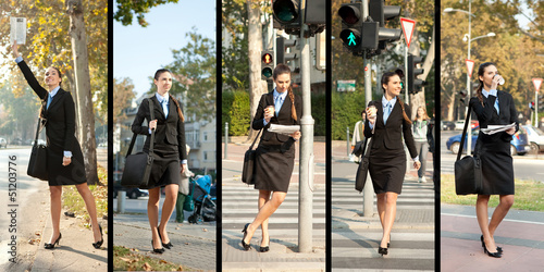 collection of businesswoman