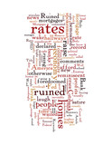 FED Raises Interest Rates Except On Existing Mortgages poster