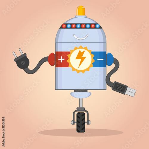 Charging robot