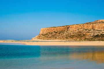 Gramvousa island and Balos Lagoon on Crete