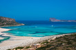 Gramvousa island and Balos Lagoon on Crete