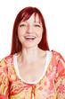 Portrait einer älteren lachenden Frau