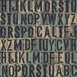 letterpress seamless background. Vector, EPS8