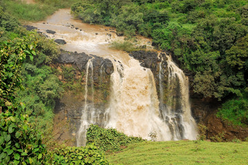 Tiss abay Falls on the Blue Nile river, Ethiopia