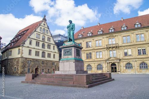 Schillers square in Stuttgart, Germany - 51209504