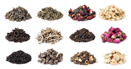 assortment of dry tea © Gresei