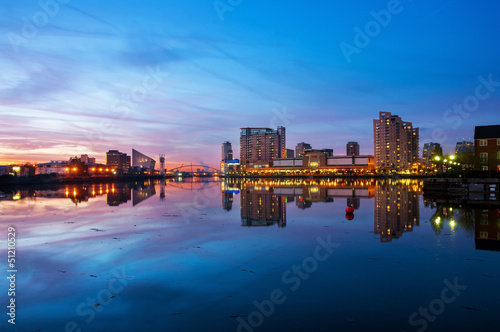 177 - panoramic view of salford quays