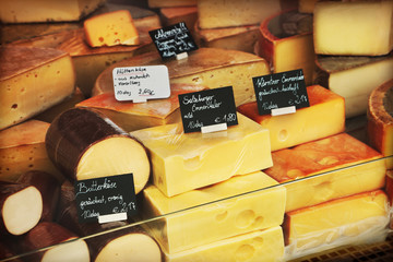 Cheeses shop