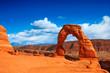 Leinwandbild Motiv Delicate Arch in Arches National Park, Utah.