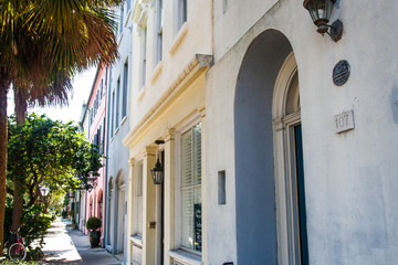Colorful Charleston Homes