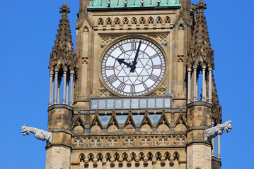 Peace Tower of Parliament Buildings, Ottawa, Canada